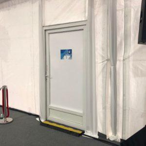 3 Ft Aluminium Single-Leaf Door
