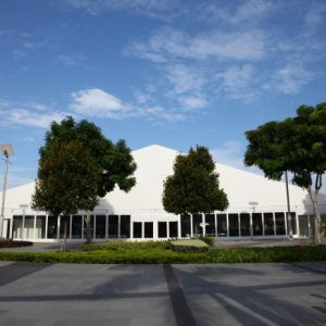 European Tent with Solid Walls – Marina Promenade