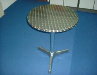 Low Aluminium Coffee Table