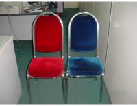 Cushion Chairs without cover (Red/Blue)