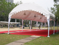 Dome-Shaped Tentage